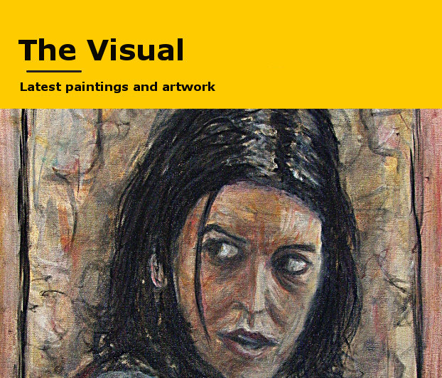 The Visual -- Paintings, Drawings, Prints and Mixed Media visual art.